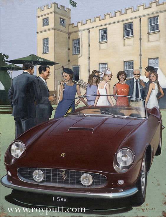 Salon Privé 2014 Official Poster Image.